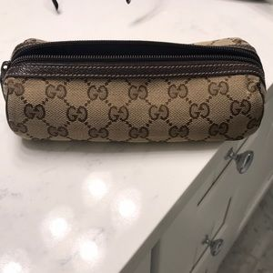 Pre-owned Gucci pencil case in perfect condition.